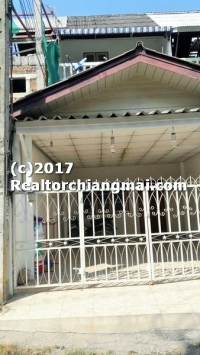 Townhouse For Sale inside ChiangMai Old City Thailand.