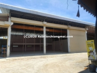 Warehouse for Rent in Saraphi, Chiang Mai, Thailand.