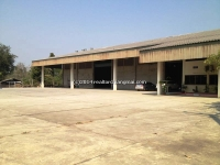 Warehouse for rent with factory premise in Chiangmai, Thailand .