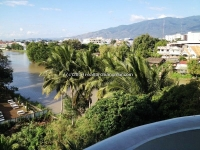 Good view apartment near Ping river for RENT in Chiangmai, Thailand.
