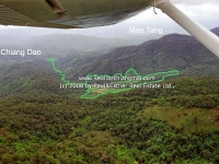 Lot Farm Land for Sale 227 Rai in Mae Taeng, Chiangmai Thailand.