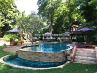 Luxury Lanna Resort with mountain&river view for sale Chiang Mai, Thailand.